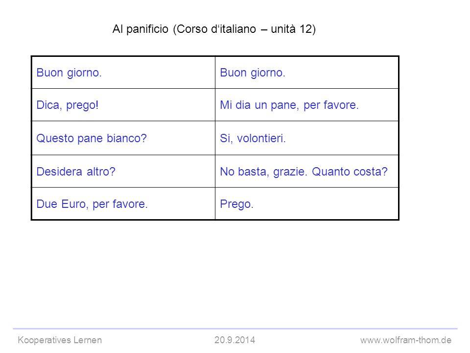 Al panificio (Corso d'italiano – unità 12)