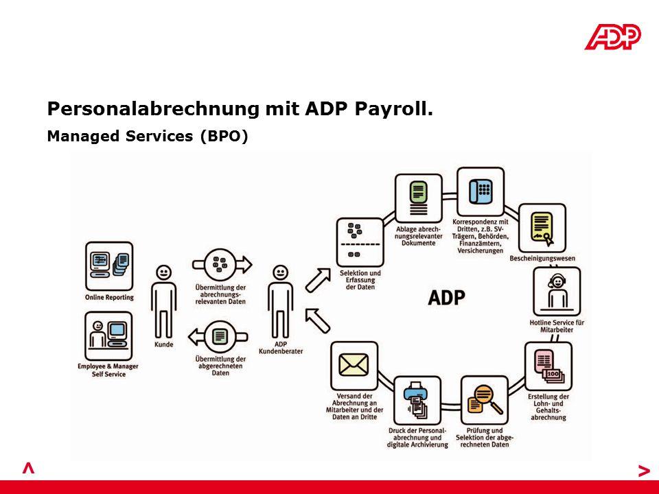 > > Personalabrechnung mit ADP Payroll. Managed Services (BPO)