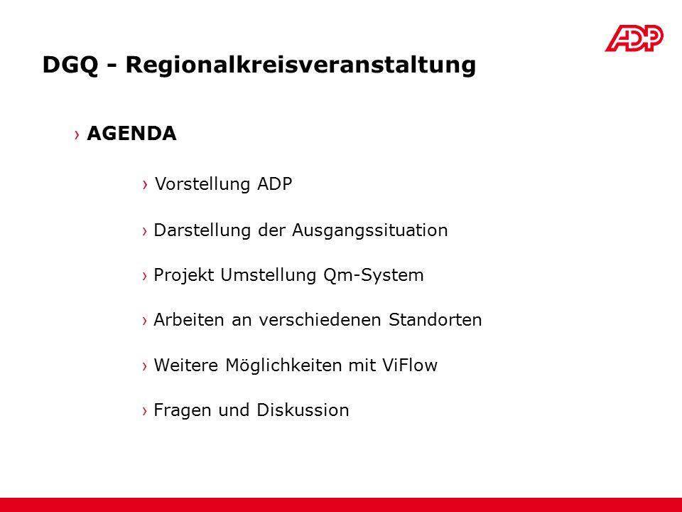DGQ - Regionalkreisveranstaltung