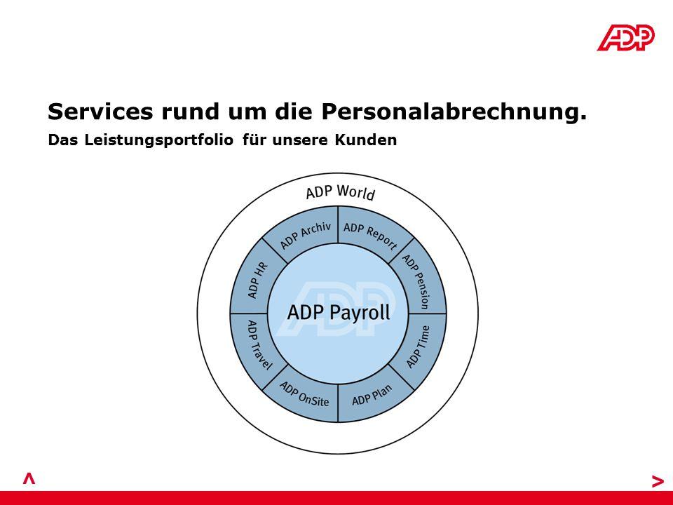> > Services rund um die Personalabrechnung.