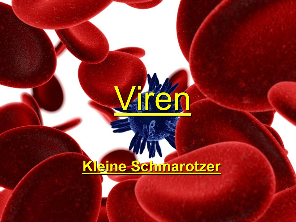 Viren Kleine Schmarotzer