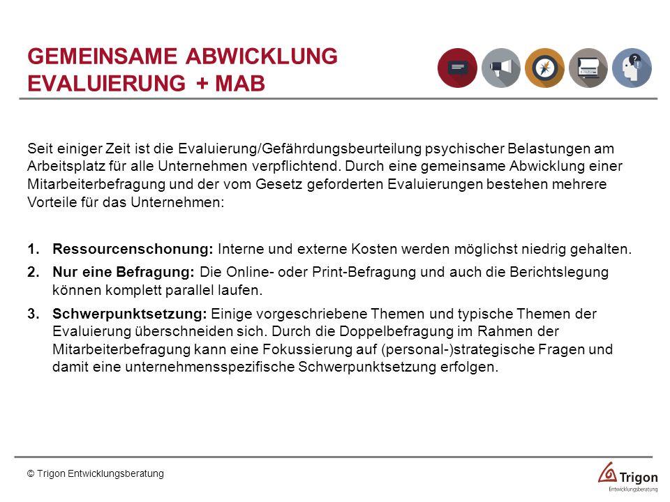 GEMEINSAME ABWICKLUNG EVALUIERUNG + MAB