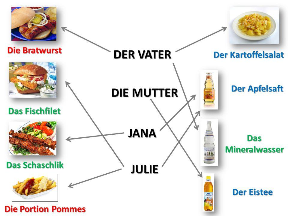 DER VATER DIE MUTTER JANA JULIE
