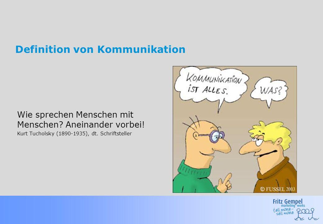 Definition von Kommunikation