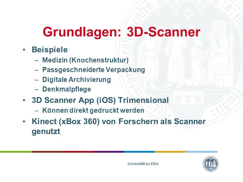 Grundlagen: 3D-Scanner