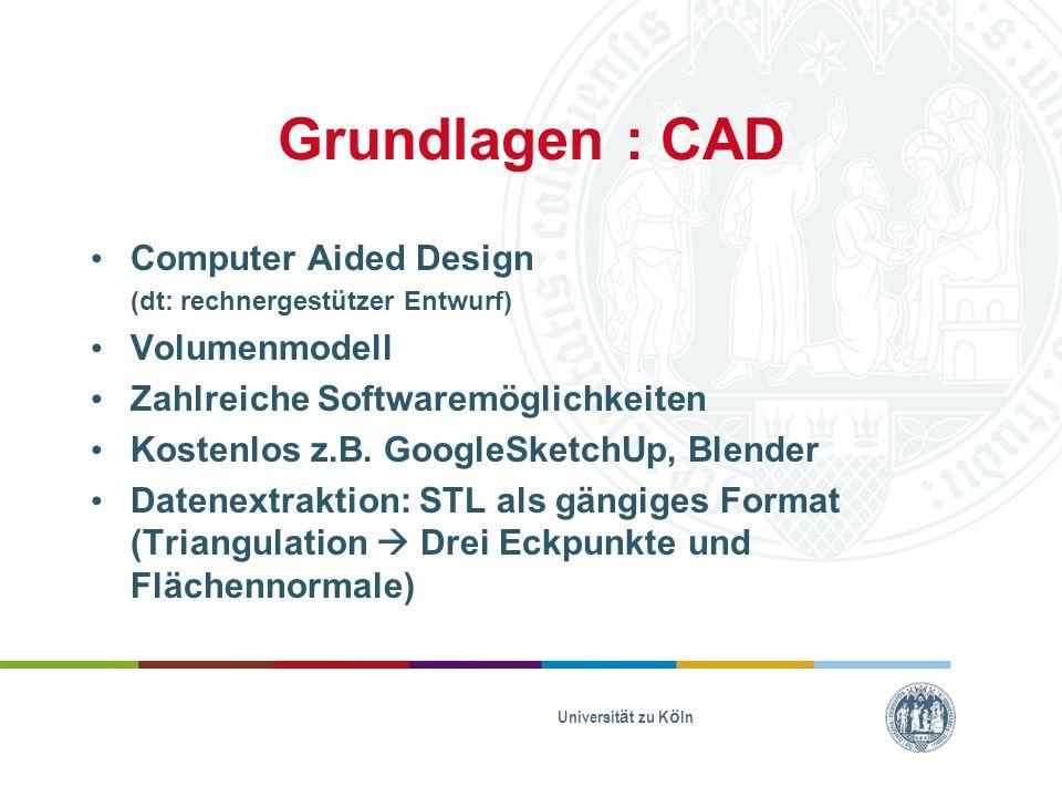 Grundlagen : CAD Computer Aided Design Volumenmodell