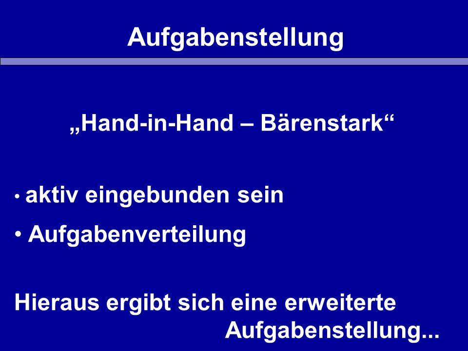 """""""Hand-in-Hand – Bärenstark"""