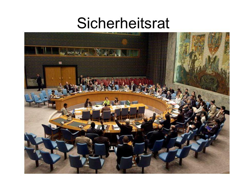 Sicherheitsrat Sicherheitsrat