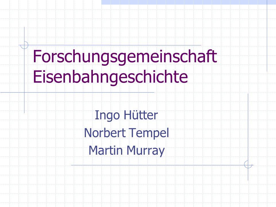 Forschungsgemeinschaft Eisenbahngeschichte