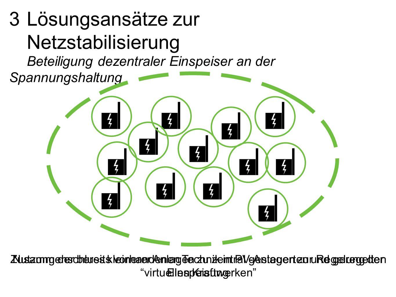 3 Lösungsansätze zur Netzstabilisierung