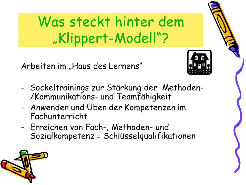 """Was steckt hinter dem """"Klippert-Modell"""