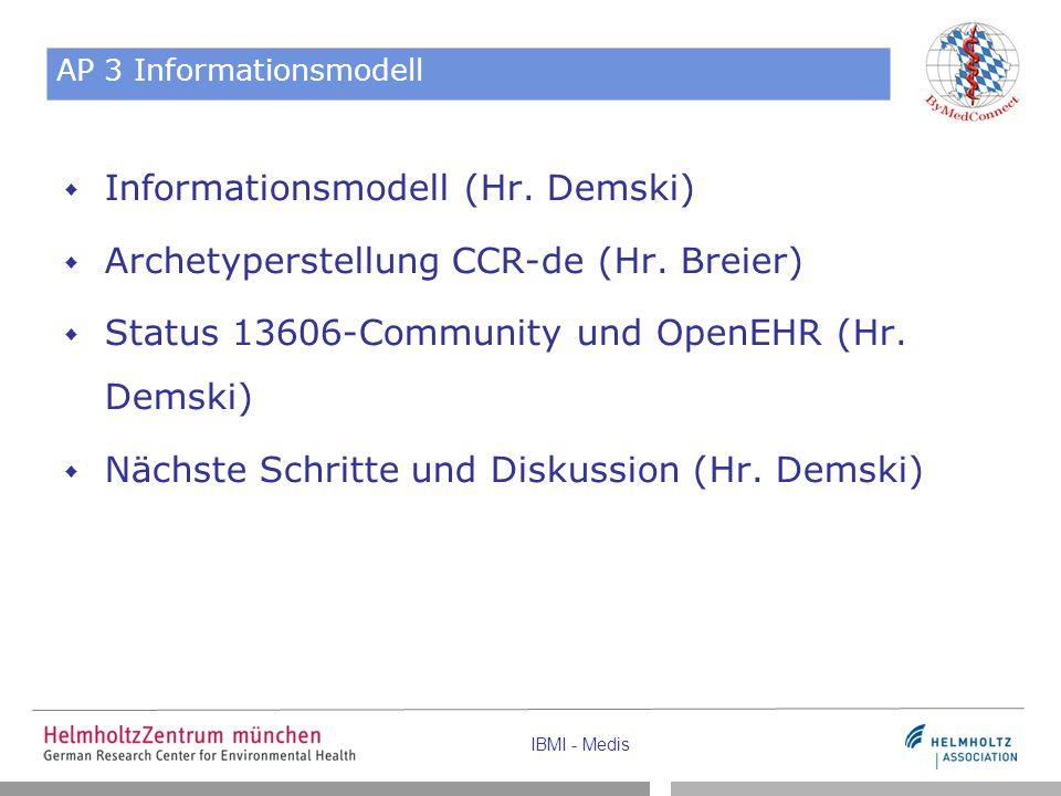AP 3 Informationsmodell