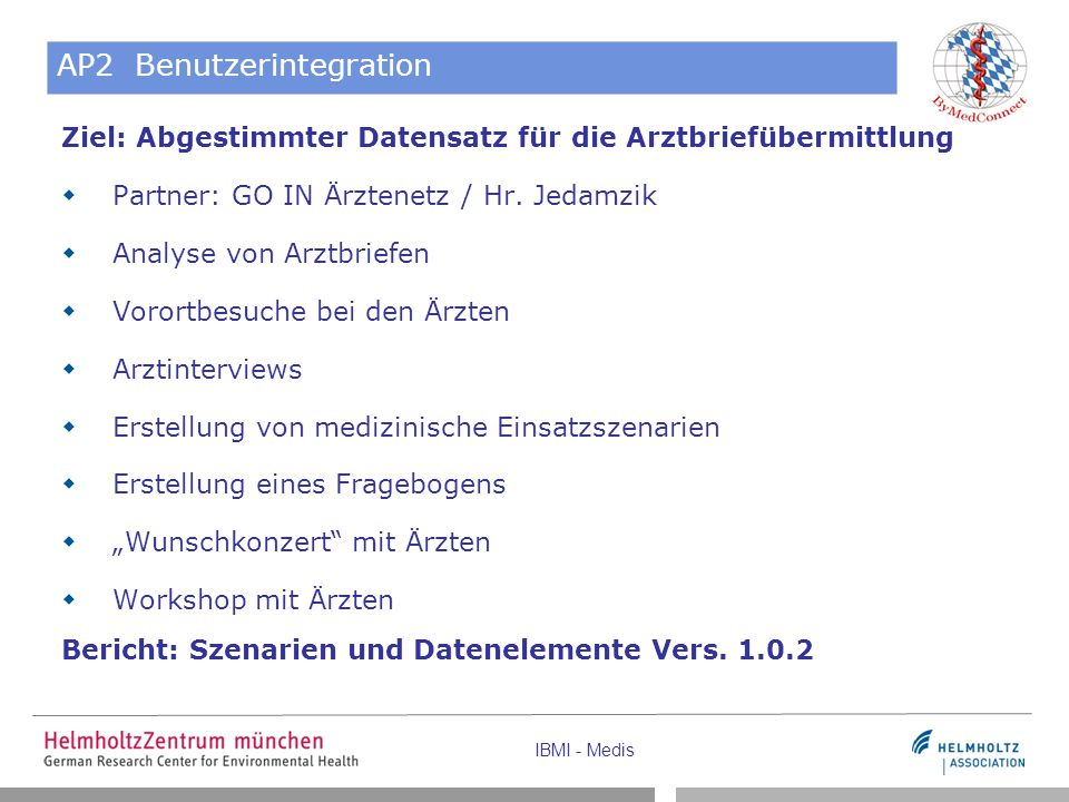 AP2 Benutzerintegration