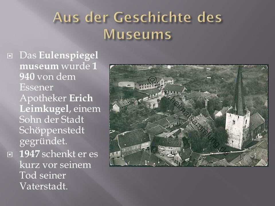 Aus der Geschichte des Museums