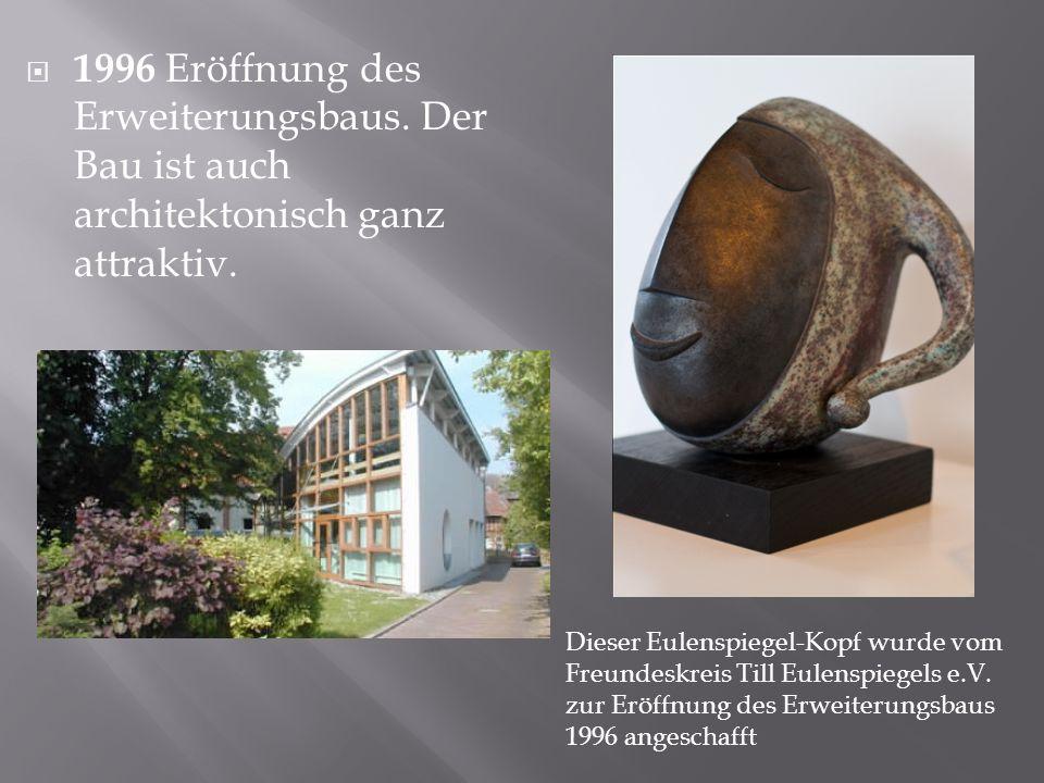 1996 Eröffnung des Erweiterungsbaus