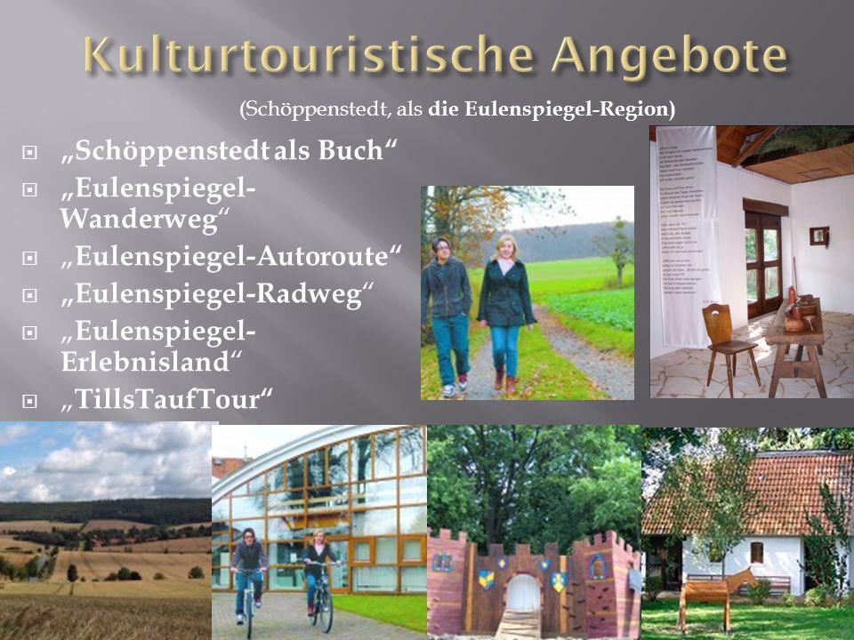 Kulturtouristische Angebote