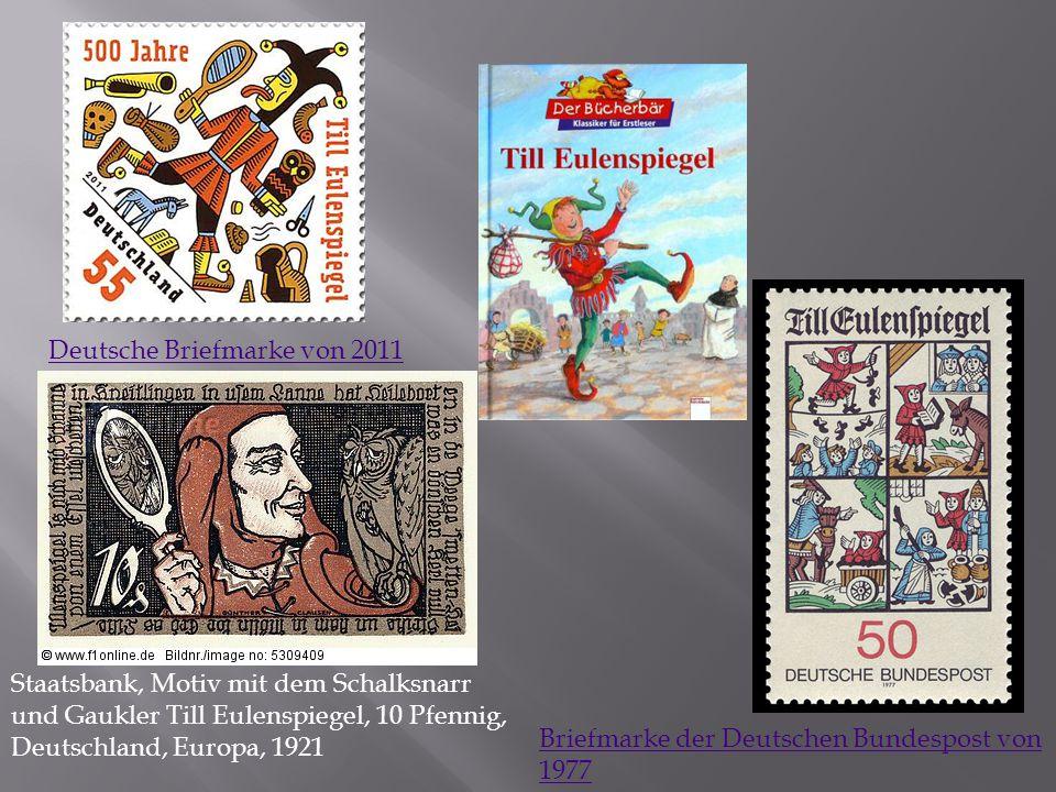 Deutsche Briefmarke von 2011