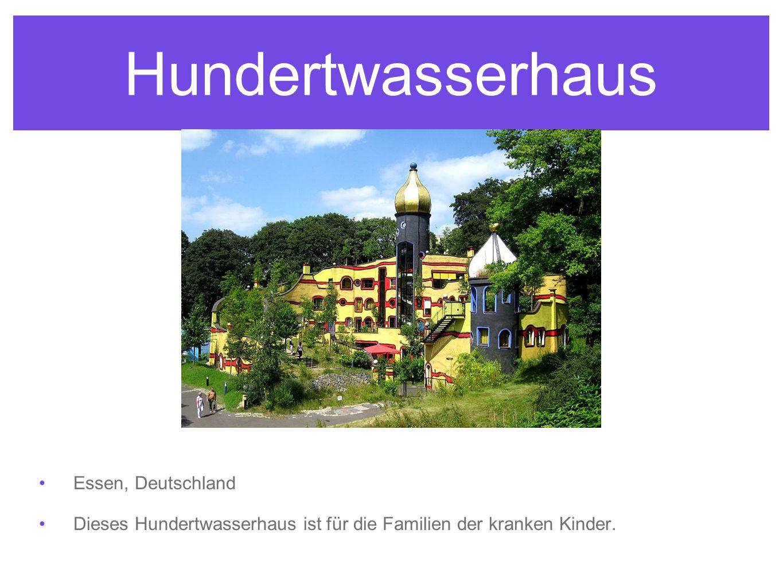 Hundertwasserhaus Essen, Deutschland