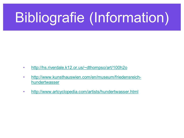Bibliografie (Information)