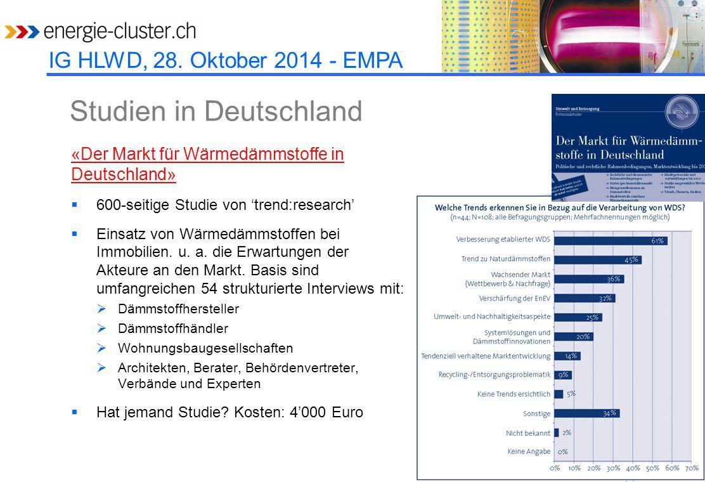 Studien in Deutschland