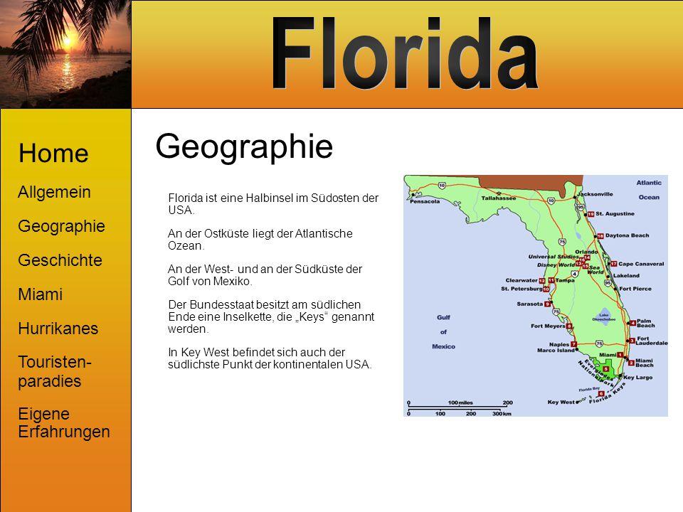 Geographie Home Allgemein Geographie Geschichte Miami Hurrikanes