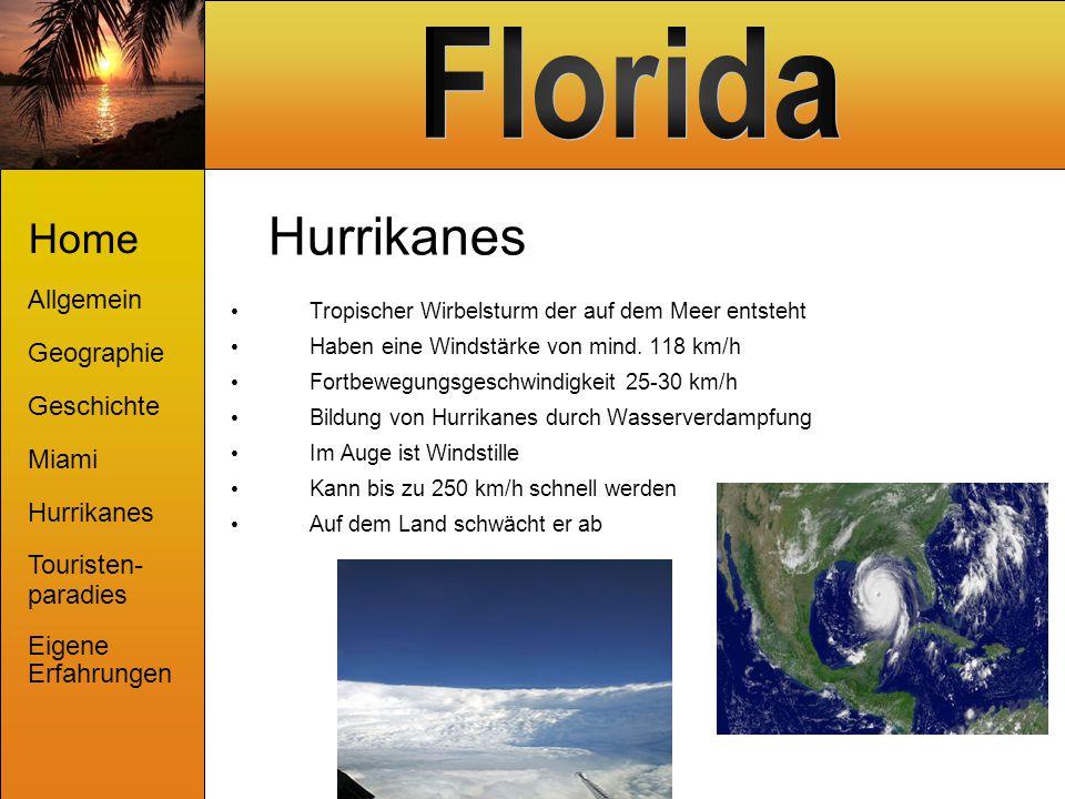 Hurrikanes Home Allgemein Geographie Geschichte Miami Hurrikanes