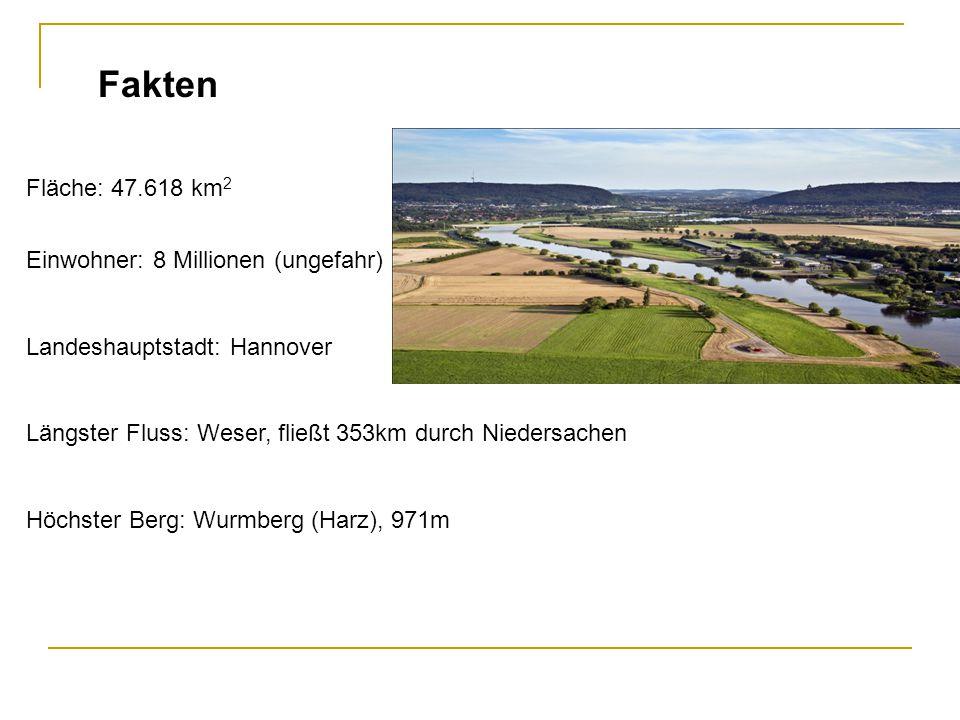 Fakten Fläche: 47.618 km2 Einwohner: 8 Millionen (ungefahr)