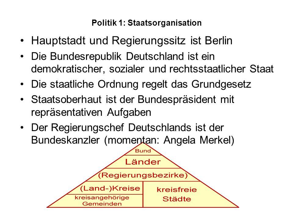 Politik 1: Staatsorganisation
