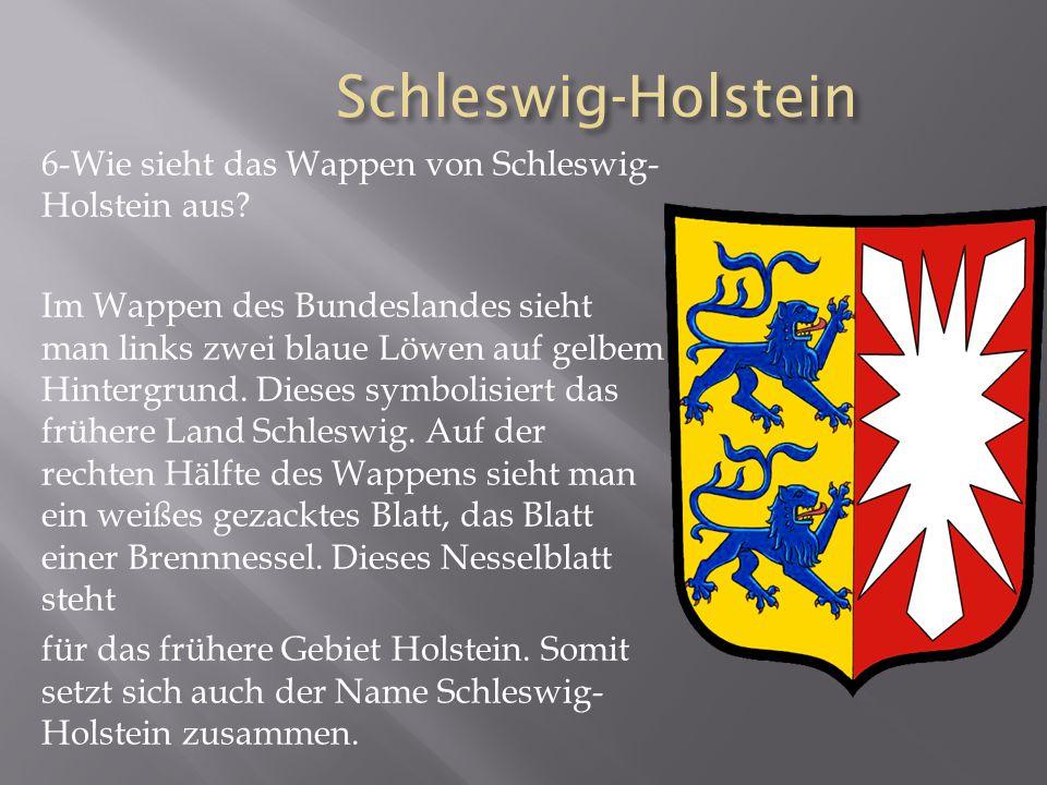 Schleswig-Holstein 6-Wie sieht das Wappen von Schleswig-Holstein aus