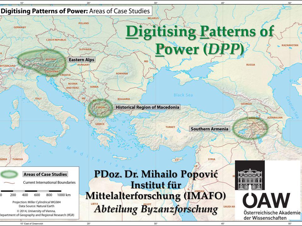 Digitising Patterns of Power (DPP)