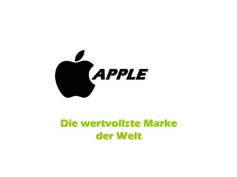 Die wertvollste Marke der Welt