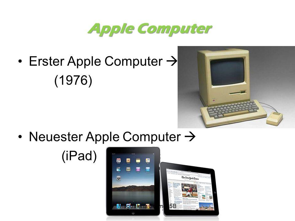Apple Computer Erster Apple Computer  (1976)
