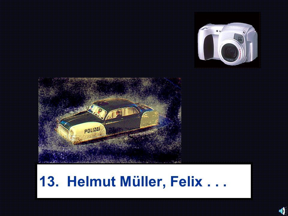 13. Helmut Müller, Felix . . .