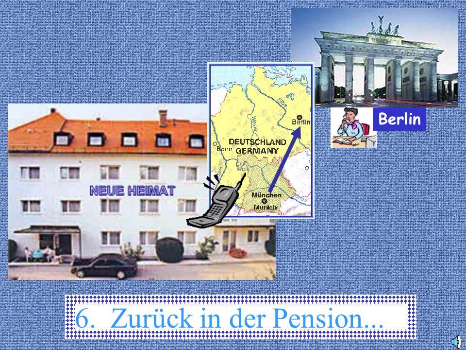 Berlin 6. Zurück in der Pension...
