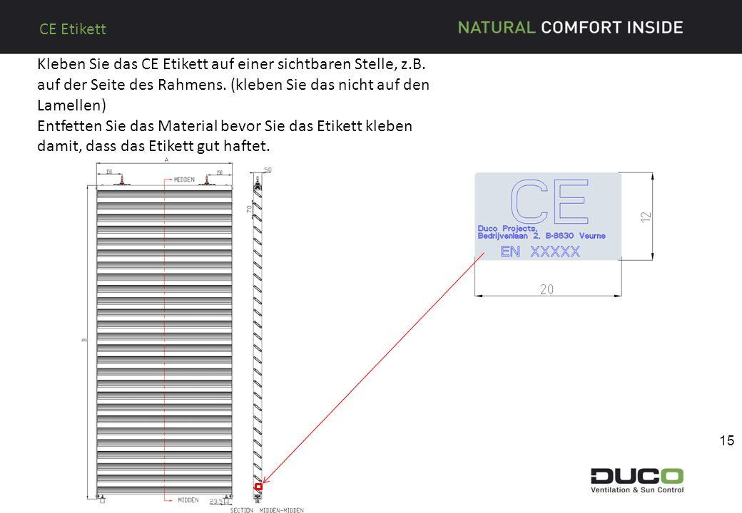 CE Etikett