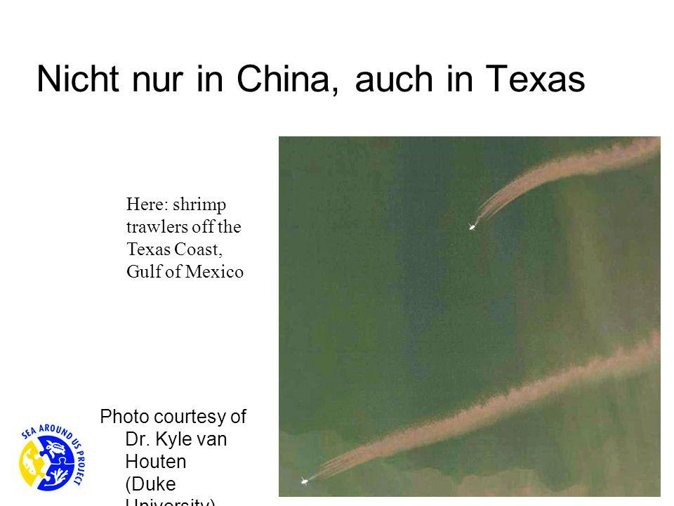 Nicht nur in China, auch in Texas
