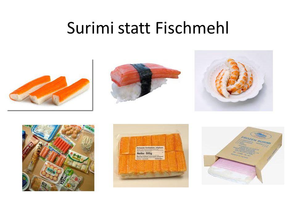 Surimi statt Fischmehl