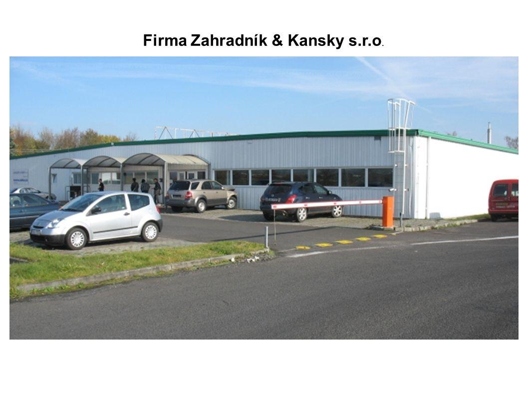 Firma Zahradník & Kansky s.r.o.