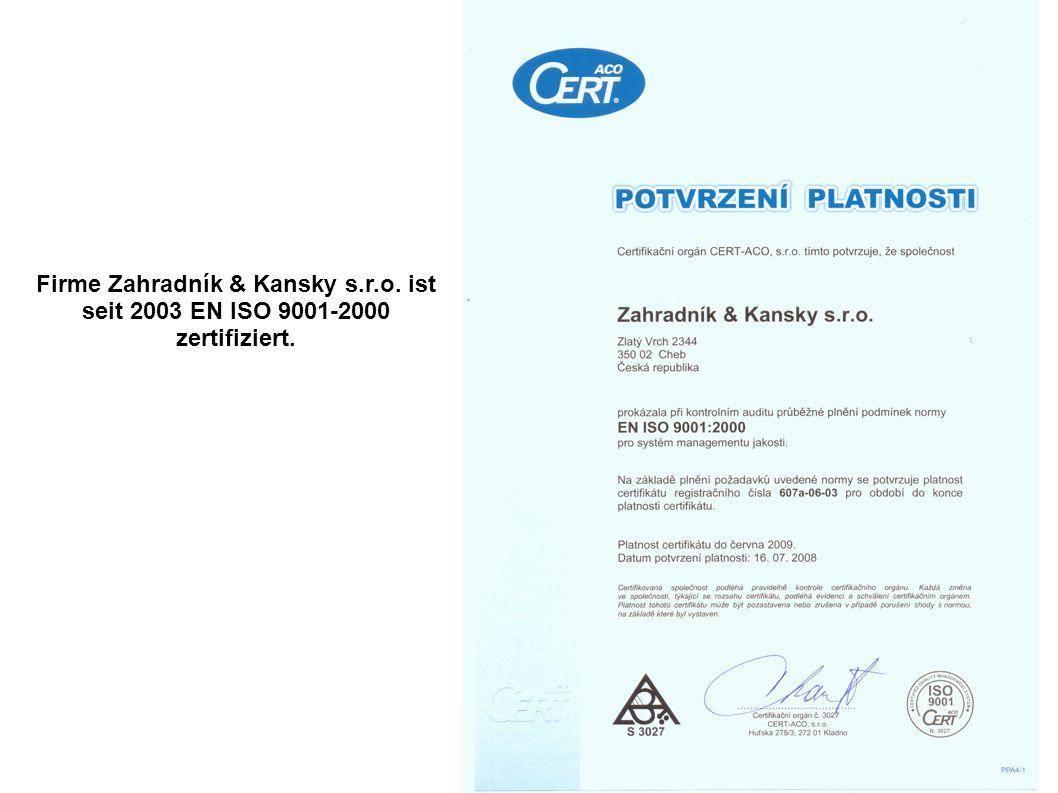 Firme Zahradník & Kansky s. r. o