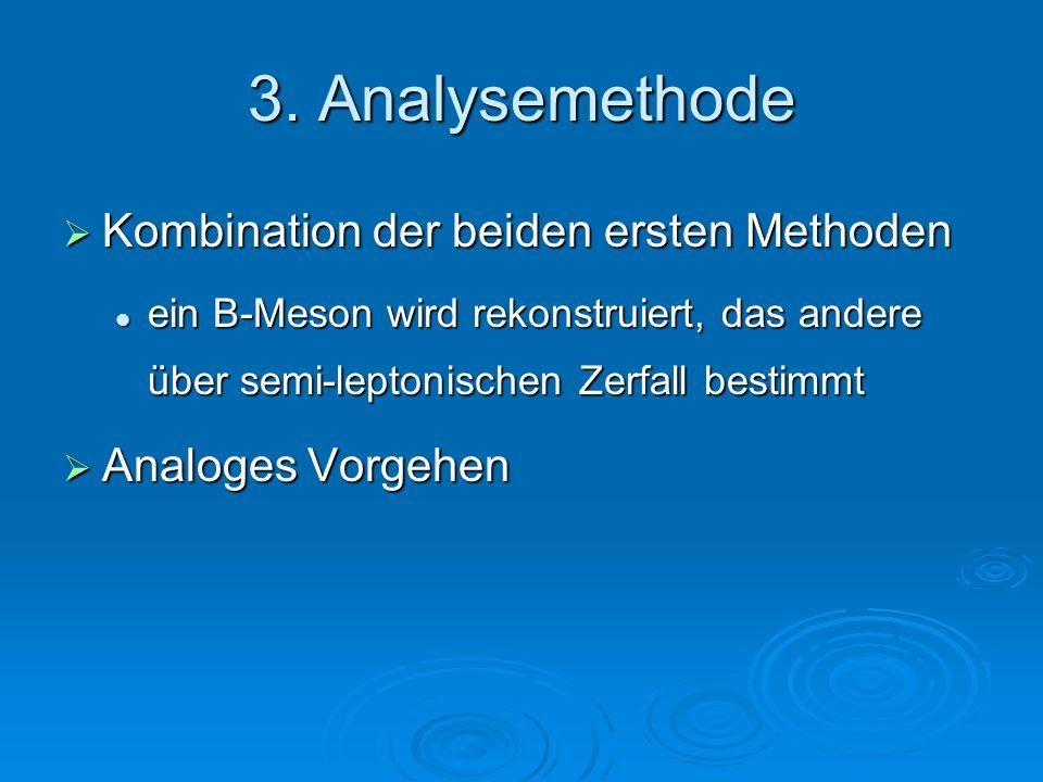 3. Analysemethode Kombination der beiden ersten Methoden