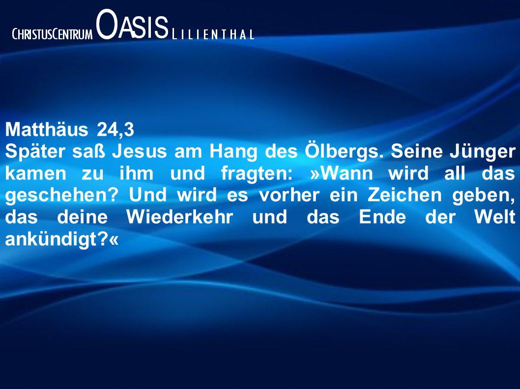 Matthäus 24,3