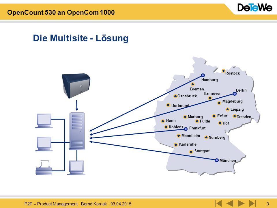 Die Multisite - Lösung Rostock. Hamburg. Bremen. Berlin. Hannover. Osnabrück. Magdeburg. Dortmund.