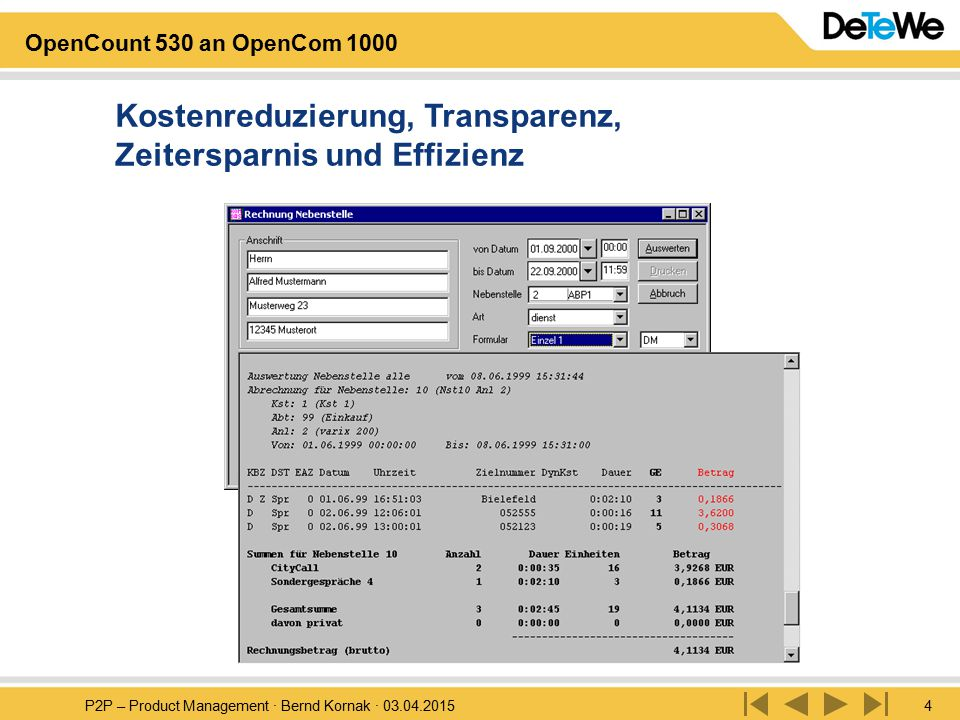 Kostenreduzierung, Transparenz, Zeitersparnis und Effizienz