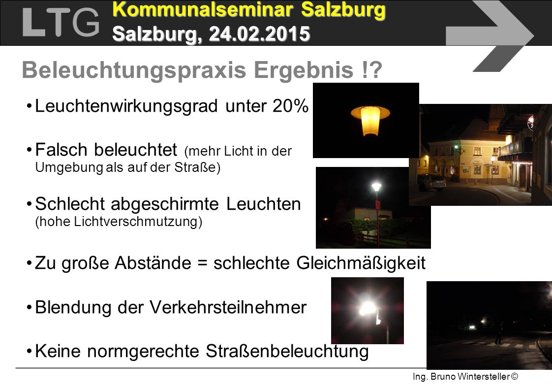 Beleuchtungspraxis Ergebnis !