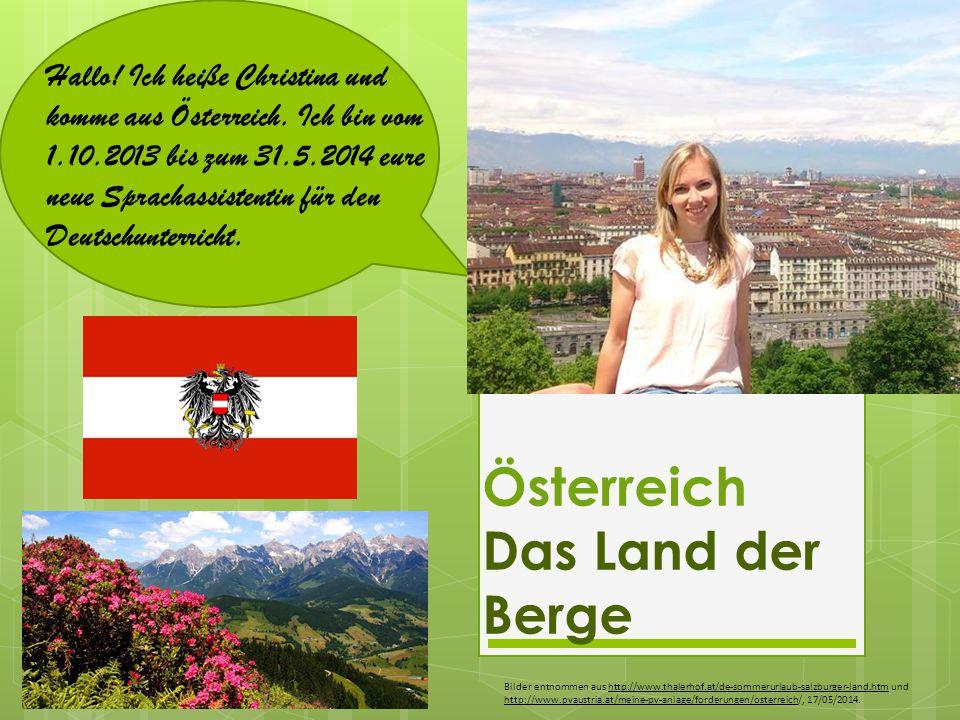 Österreich Das Land der Berge