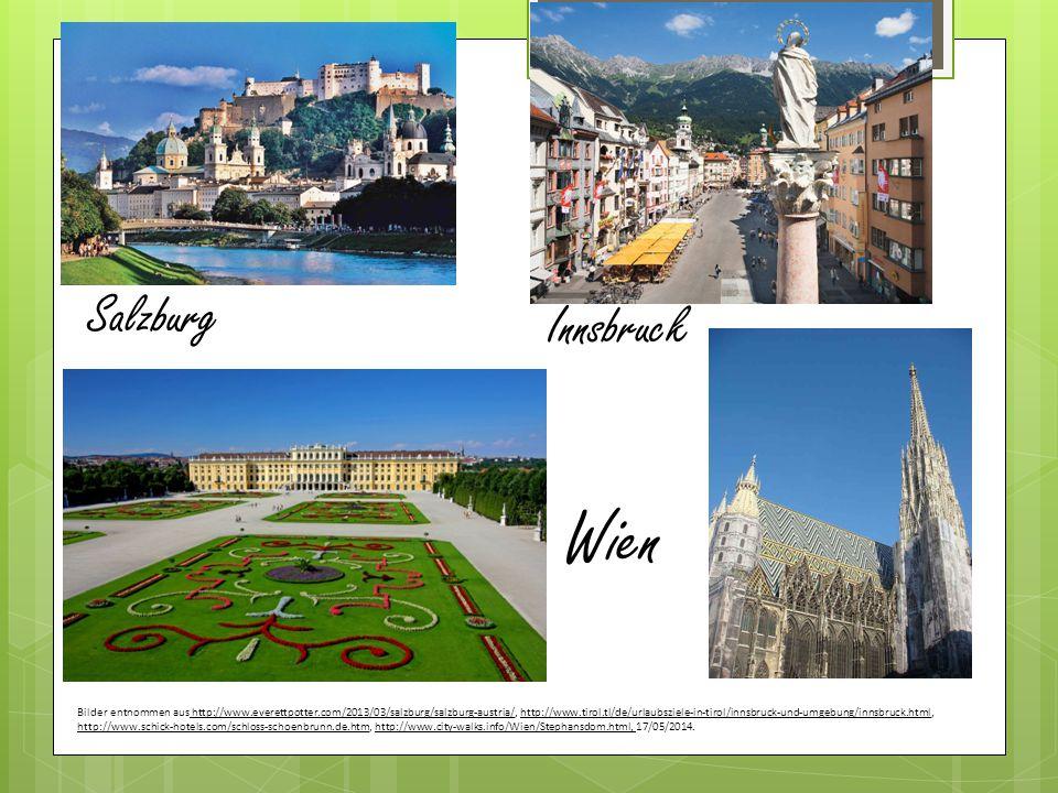 Wien Salzburg Innsbruck