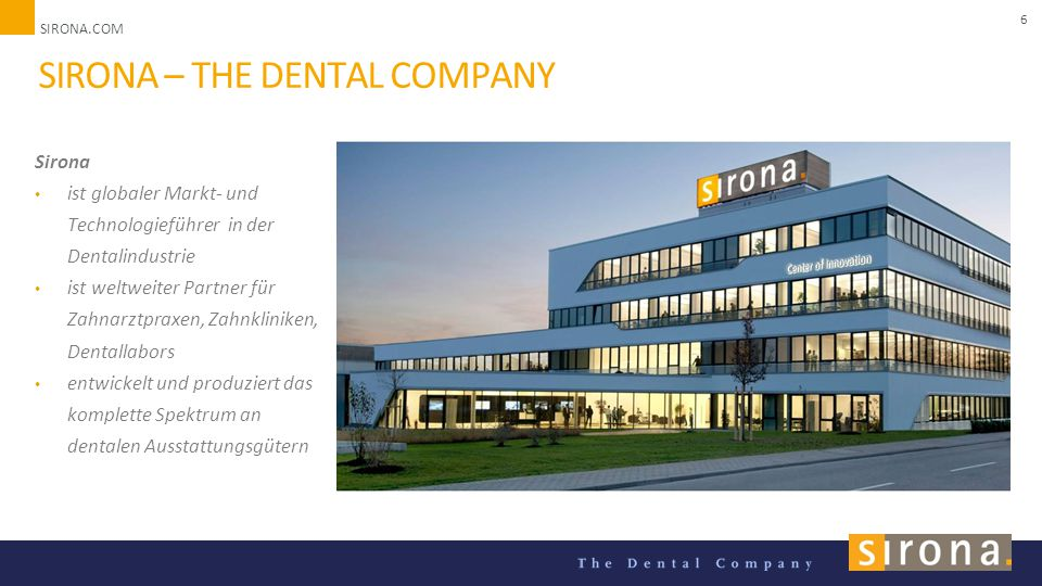 Sirona – the dental company