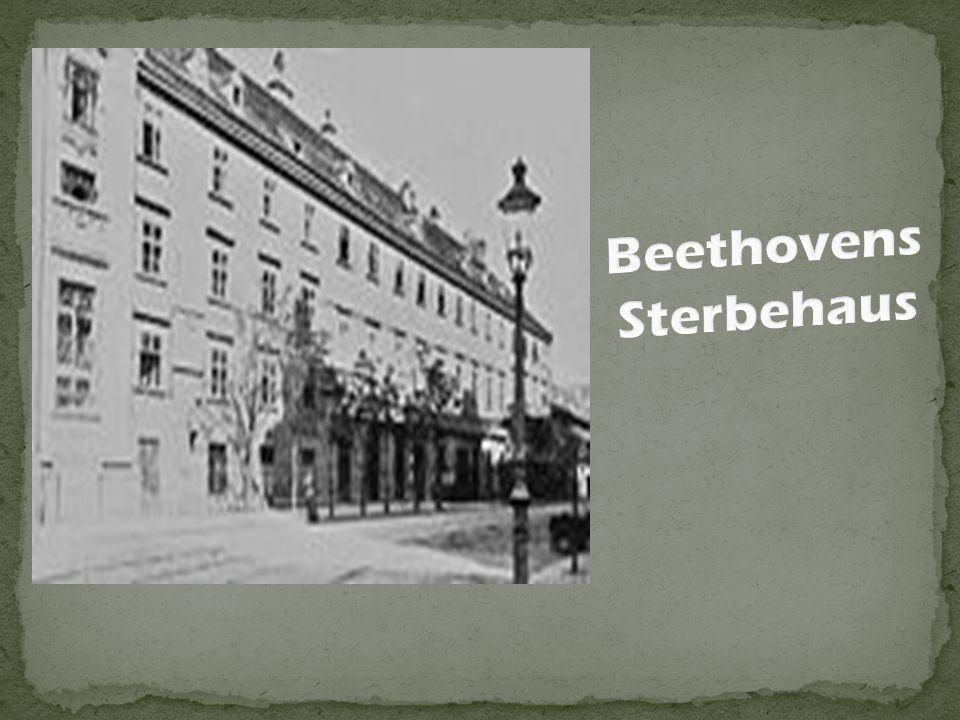 Beethovens Sterbehaus