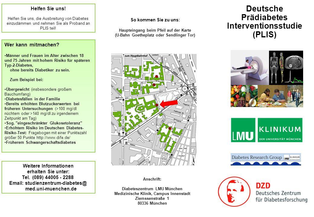 Deutsche Prädiabetes Interventionsstudie (PLIS)
