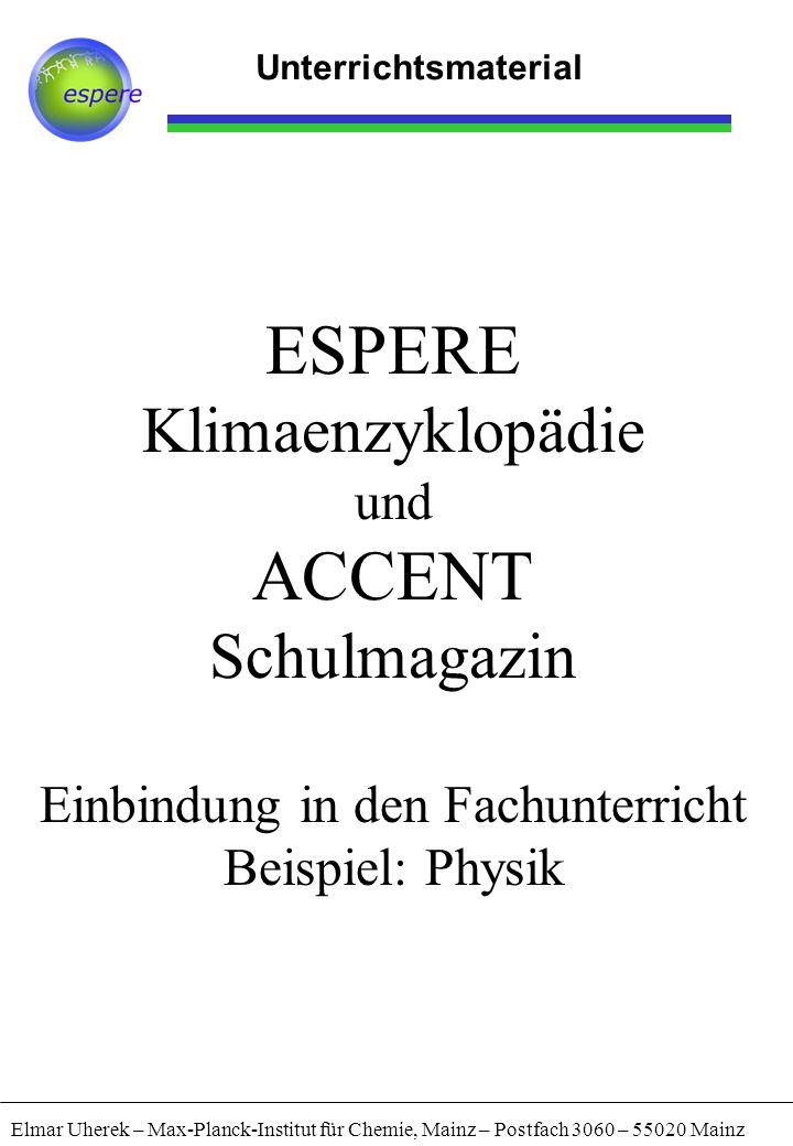 ESPERE Klimaenzyklopädie